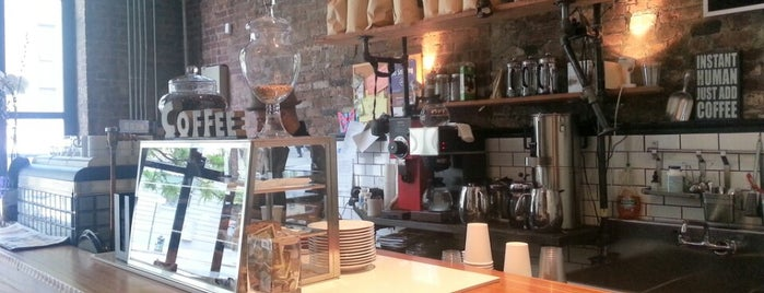 Taszo Espresso Bar is one of New York's Best Coffee Shops - Manhattan.
