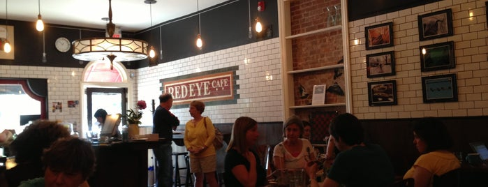 Red Eye Cafe is one of Foodin': NJ.