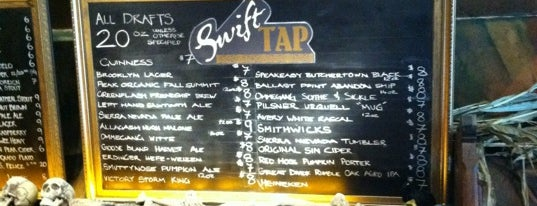 Swift Hibernian Lounge is one of Hooray for Beer.
