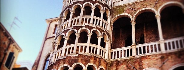 Palazzo Contarini del Bovolo is one of Benátky.