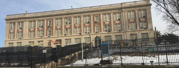 Jamaica High School is one of Queens.