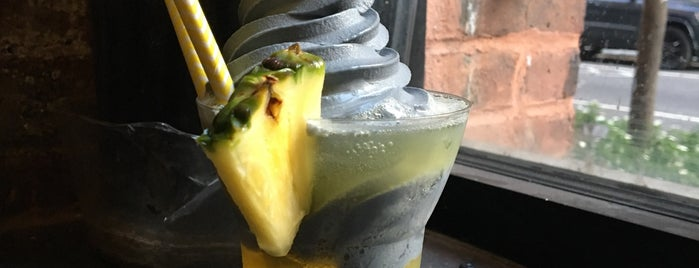 Pineapple Express is one of NYC Veg Spots to hit.