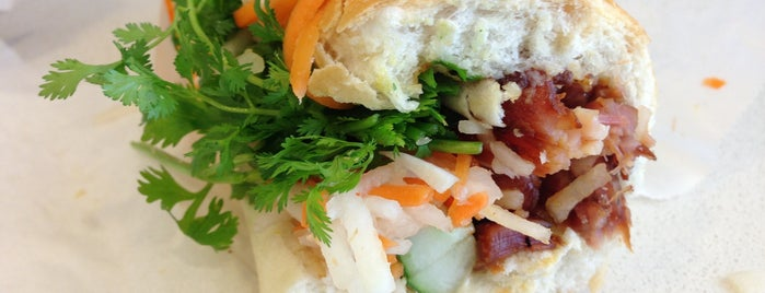 Banh Mi Saigon Bakery is one of NYC dine out..