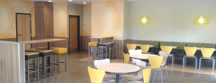 McDonald's is one of Liz : понравившиеся места.