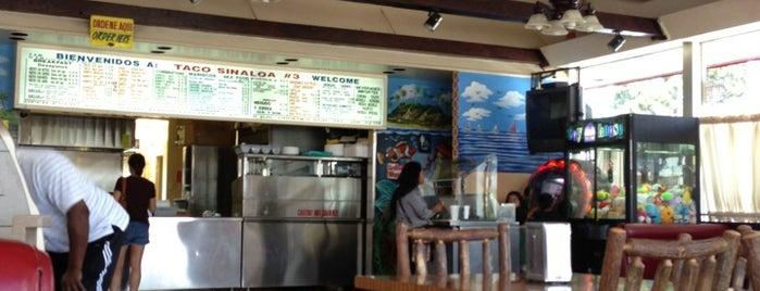 Taco Sinaloa is one of สถานที่ที่บันทึกไว้ของ Michael.