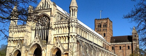 St Albans Cathedral & Abbey is one of Posti che sono piaciuti a Carl.