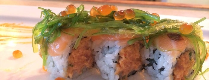 Blue Water Sushi is one of Western MA.