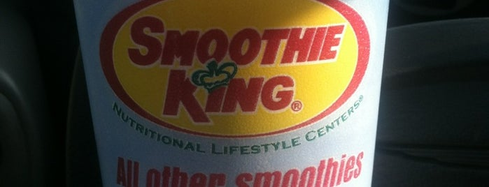 Smoothie King is one of Tempat yang Disukai Donna.