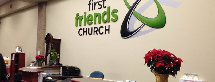 First Friends Church is one of Weekly Stops.