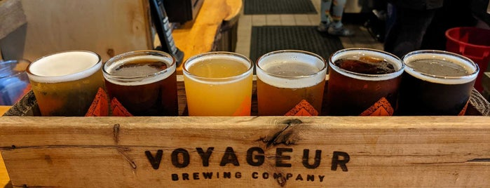 Voyageur Brewing Company is one of Grand Marais!.
