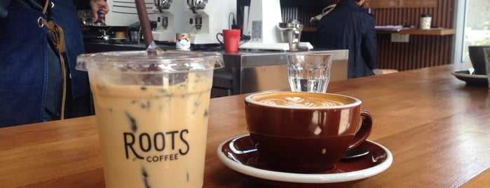 Roots Coffee is one of Bangkok🌃.