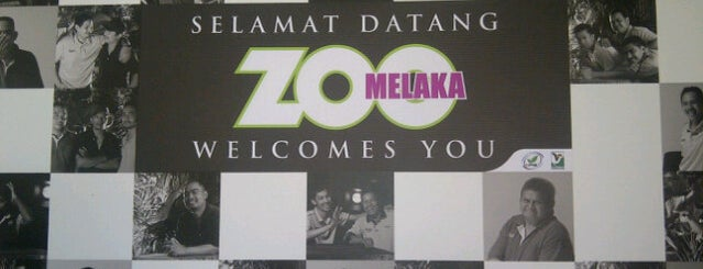 Zoo Melaka is one of Attraction Places to Visit.