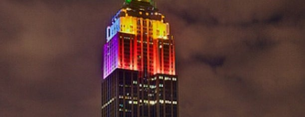 Empire State Building is one of JB's Top NYC Spots.
