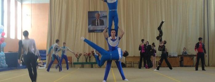 Школа Олимпийского Резерва is one of Lieux sauvegardés par Anna.