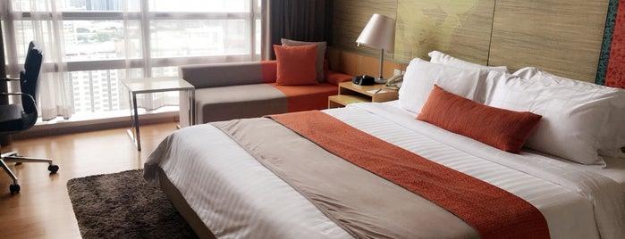 Pathumwan Princess Hotel is one of Lugares guardados de Ali.