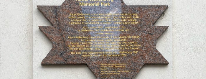 Raoul Wallenberg Holocaust Memorial Park is one of To-Do List: Budapest.
