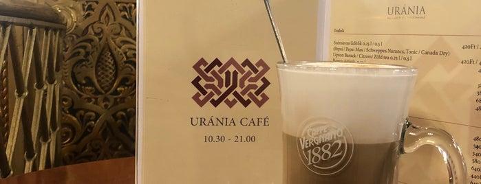 Uránia Kávéház is one of Coffee.