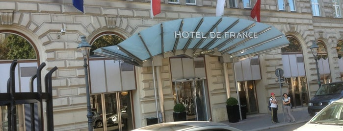 Hotel De France is one of Orte, die Koroleva gefallen.