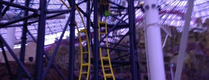El Loco Roller Coaster is one of Las Vegas.