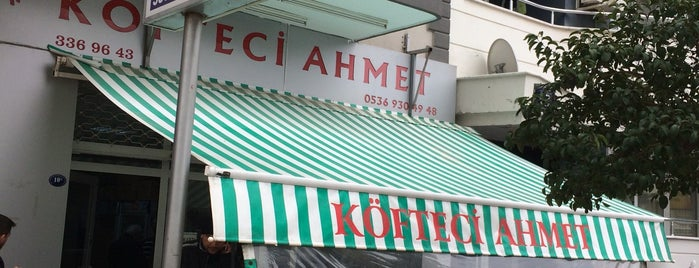Meshur Kofteci Ahmet is one of İZMİR EATING AND DRINKING GUIDE-2.
