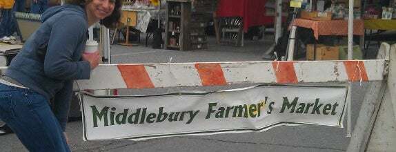 Middlebury Farmers' Market is one of Lieux sauvegardés par Randy.