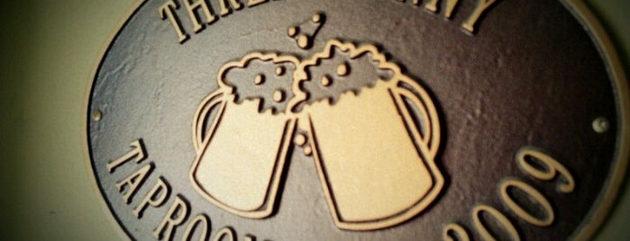 Three Penny Taproom is one of America's 100 Best Beer Bars - Draft Magazine 2014.