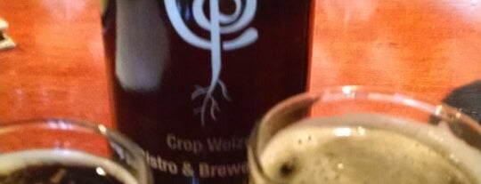 Crop Bistro & Brewery is one of melissaさんのお気に入りスポット.