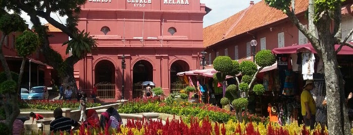 The Stadthuys is one of Malacca.