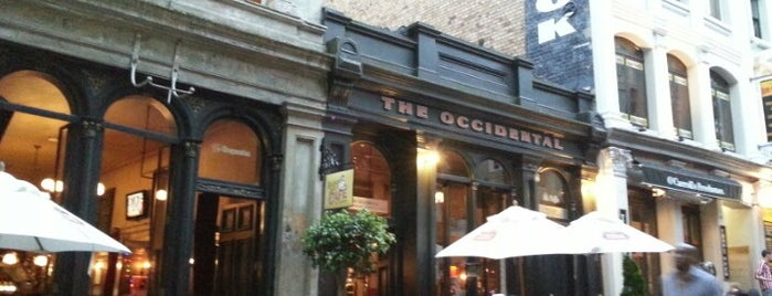The Occidental is one of T. 님이 좋아한 장소.