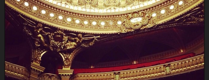 Opéra Garnier is one of Jas' favorite urban sites.
