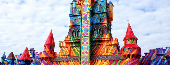 Beto Carrero World is one of Balneário Camboriú.