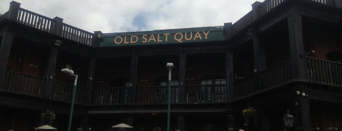 The Salt Quay is one of London.