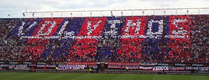 """Estadio Pedro Bidegain """"Nuevo Gasómetro"""" (Club Atlético San Lorenzo de Almagro) is one of Estadios de Fútbol de Argentina."""