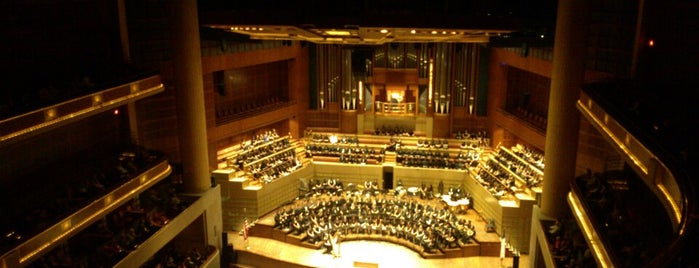 Morton H. Meyerson Symphony Center is one of Tempat yang Disukai Reuben.