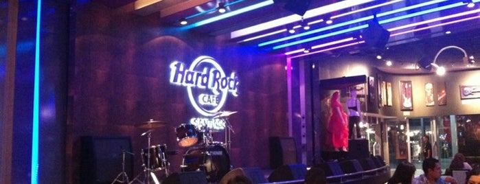 Hard Rock Cafe Santiago is one of Santiago.