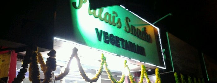 Pillai's Snacks is one of Calicut.