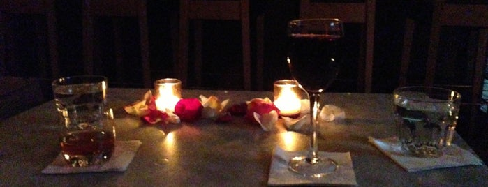 Shalel Lounge is one of NYC's Most Romantic Places.
