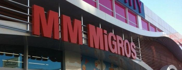 MM Migros is one of is ziyaret noktaları....