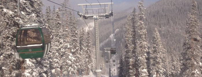 River Run Gondola, Keystone Resort is one of favs.