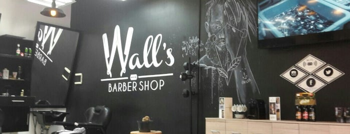 Wall's - Barber Shop is one of Esteticas.