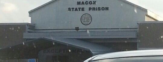 Macon State Prison is one of Georgia, GA USA.