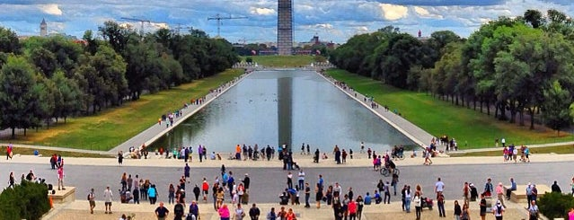 National Mall is one of Lieux sauvegardés par Leonard.