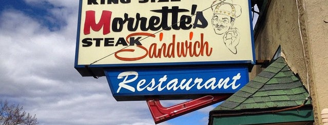 Morrette's King Steak House is one of Road trip eats.