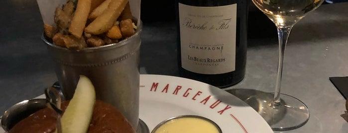 Margeaux Brasserie is one of Locais curtidos por Brandon.