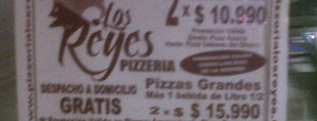 Pizzeria Los Reyes is one of Lugares favoritos de Marianne.