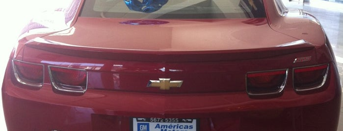 Distribuidor Autorizado Chevrolet (Américas Motors, S.A. de C.V.) is one of Orte, die Jenny gefallen.