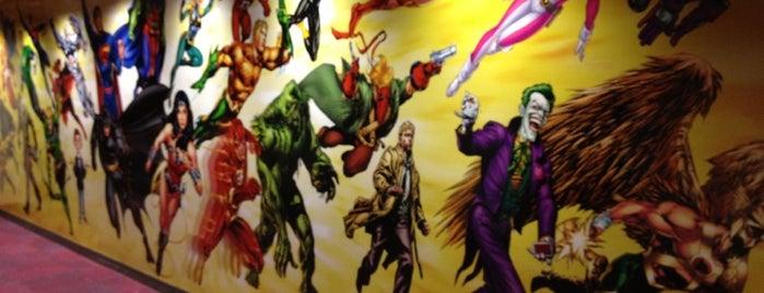 DC Comics is one of Lieux sauvegardés par Juliano.