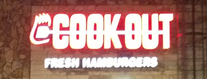 Cook Out is one of New spots.