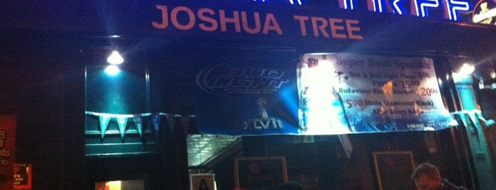 Joshua Tree is one of Bars. Just a list of bars..