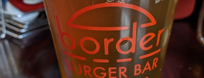 Border Burger Bar is one of Posti che sono piaciuti a Erik.